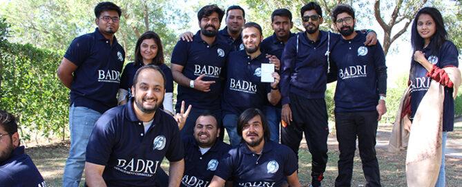 Celebrating the Badri's Success